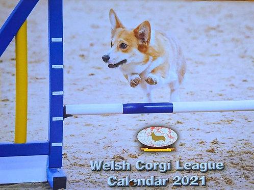2021 Welsh Corgi League Calendar
