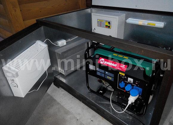 Мини-контейнер 1400х900х900мм для генератора до 8кВа
