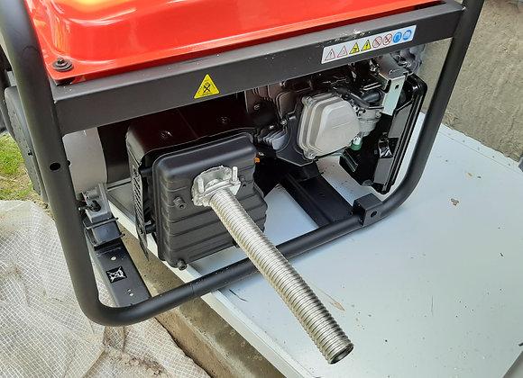 Газоотвод на выхлопную трубу бензогенератора FUBAG BS 8500 A ES