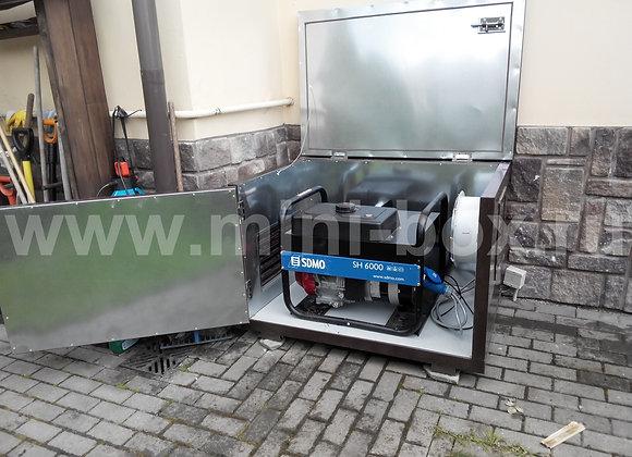 Миниконтейнер 1200х800х800мм для бензинового генератора до 7 кВа