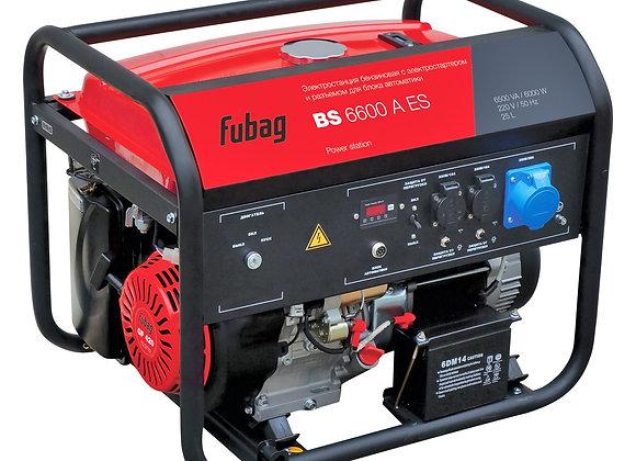 Бензогенератор FUBAG BS 6600 A ES с автозапуском