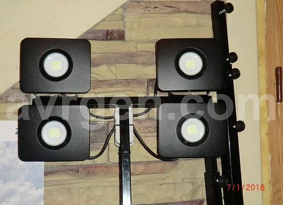 Световая телескопическая вышка с LED прожекторами