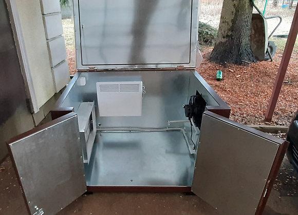 Утепленный мини-контейнер 1200х900х800мм с системой обогрева