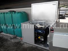 контейнер для генератора SDMO