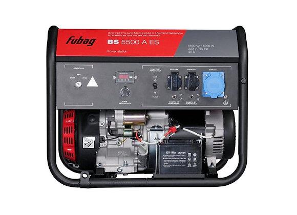 Бензогенератор FUBAG BS 5500 A ES с автозапуском