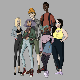 Graphic novel/ graphic novel concept