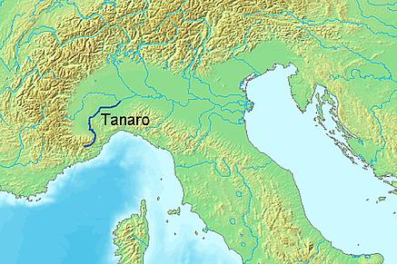Stroomgebied Tanaro