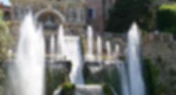 Fontein van Neptunus in Villa d'Este