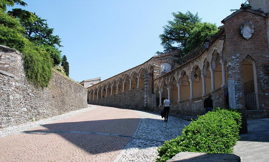 Weg naar Castello di Udine