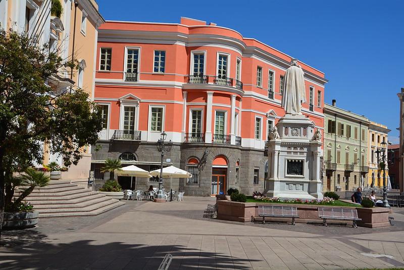 Piazza Eleonora Oristano Sardinië