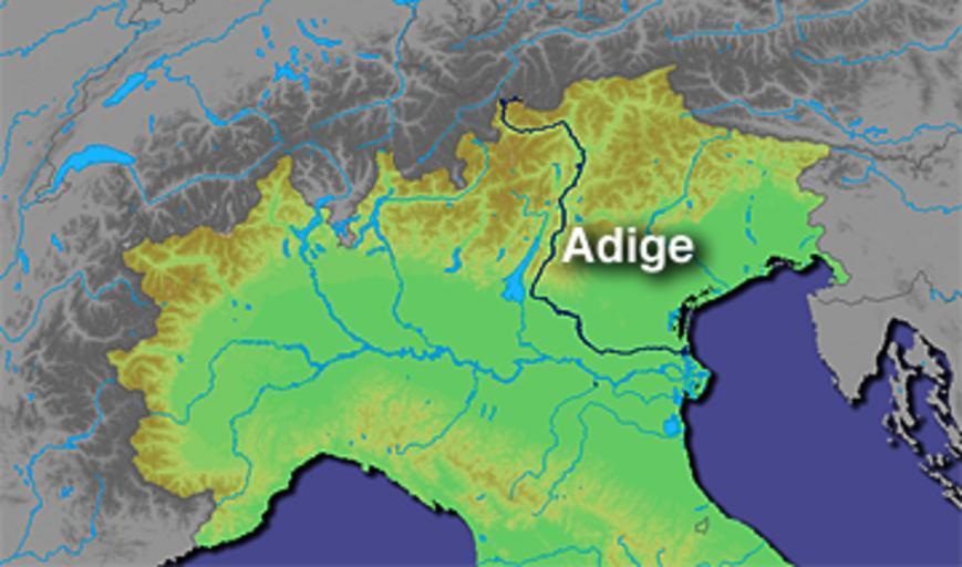 Stroomgebied Adige