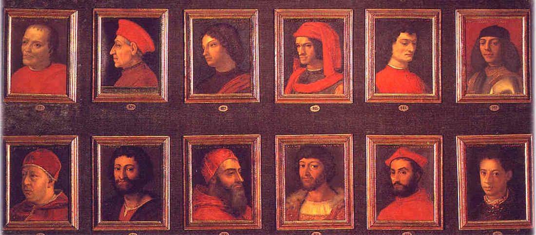De belangrijkste Medici. Werk van Bronzino.