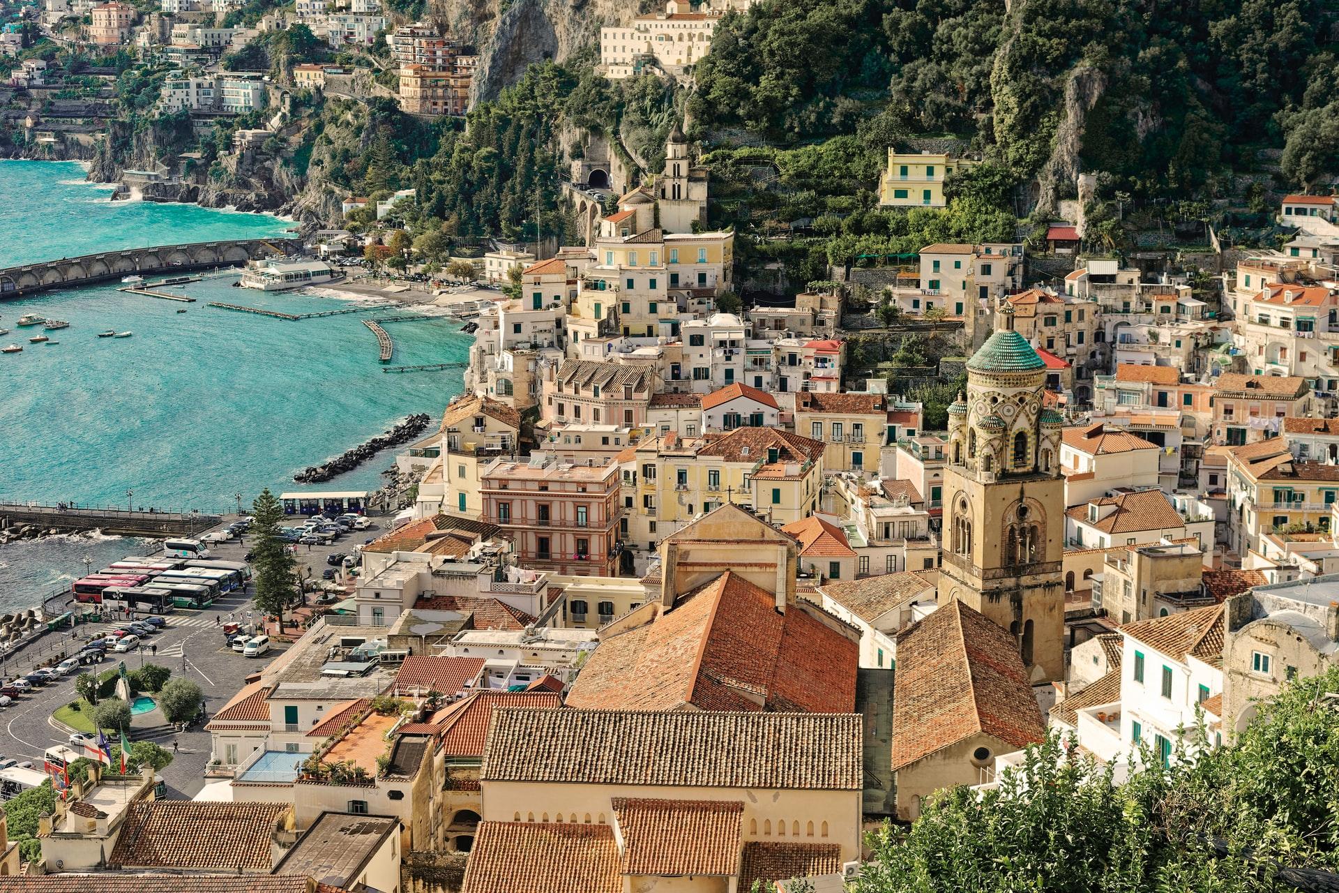 Amalfi centrum