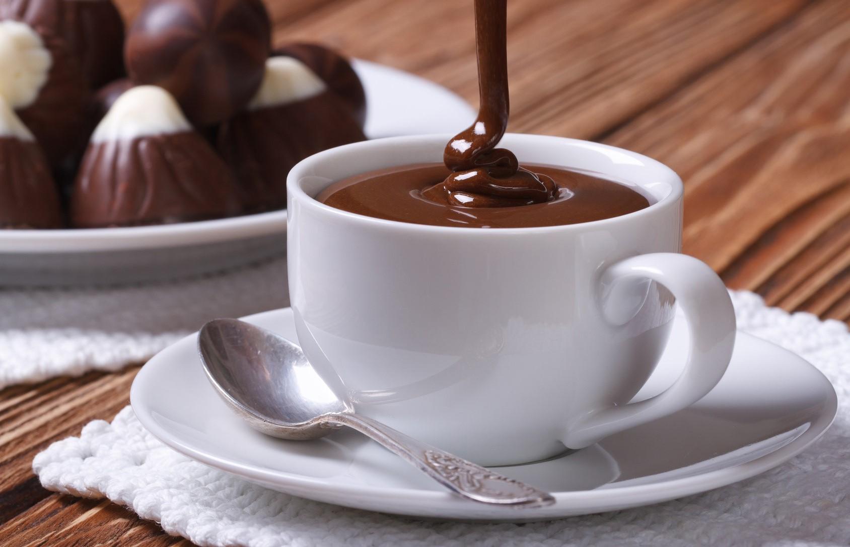 Cioccolata calda uit Italie