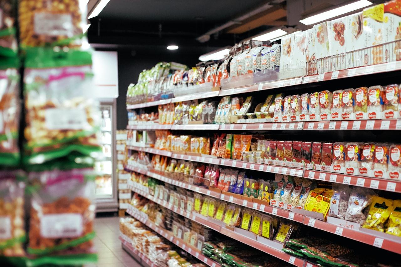 Italiaanse supermarkt