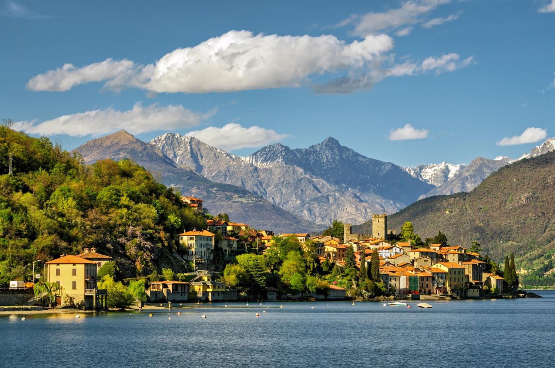 Het Comomeer (Lago di Como)