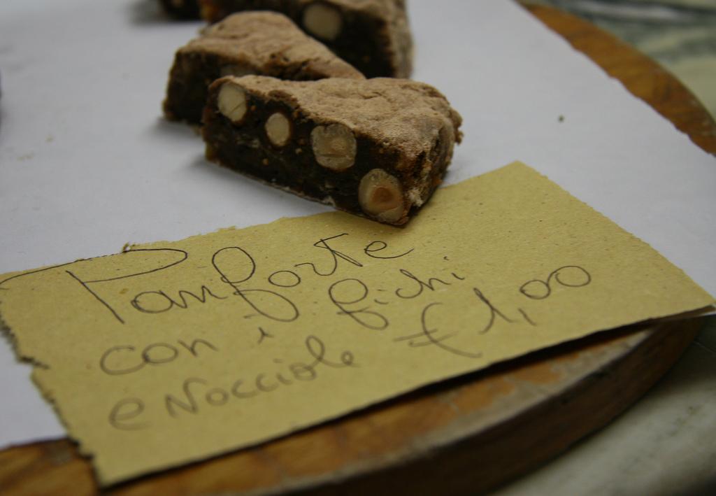Panforte bestaat in verschillende vormen en smaken