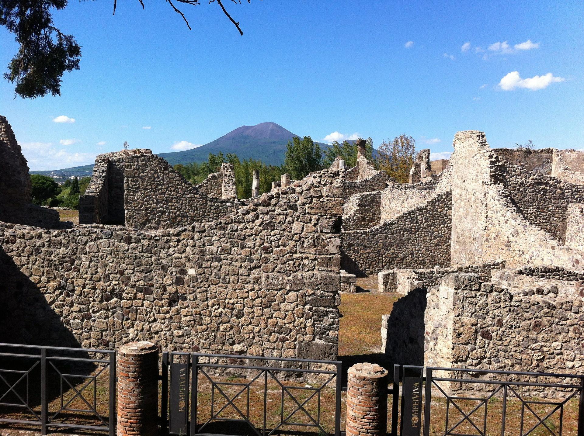 Overblijfselen van Pompeï
