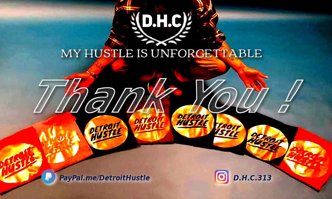 Detroit Hustle Culture cardBK