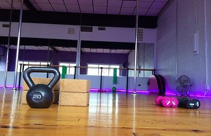 Pole Dance Fitness Training