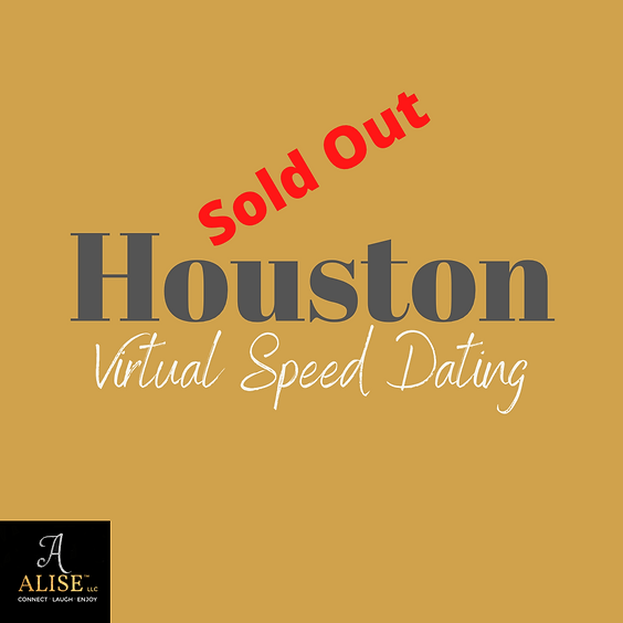 Virtual Speed Dating Houston   Age 30-46