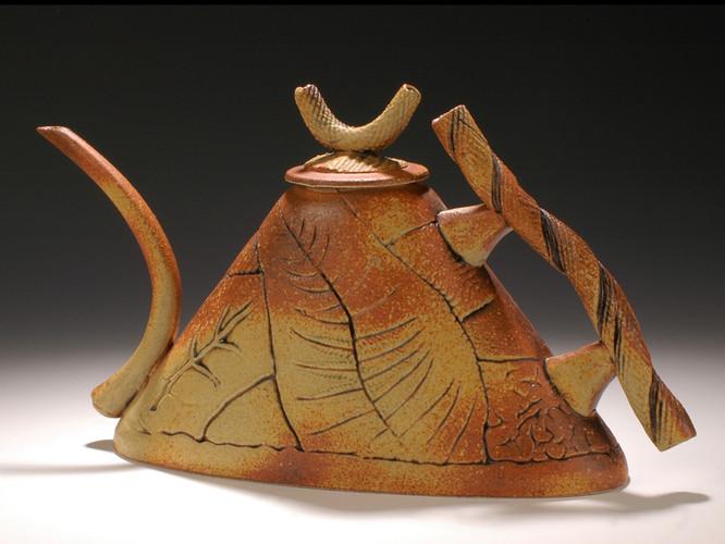 Iron Glaze Teapot