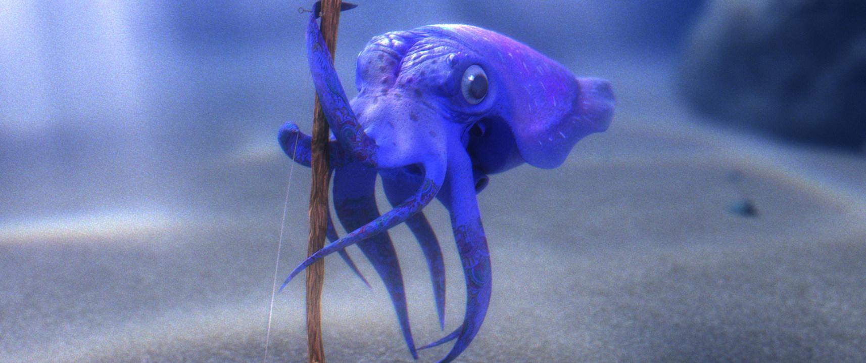 Willie The Squid