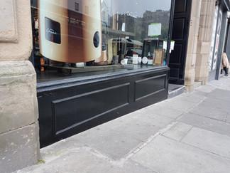 Shop front repairs