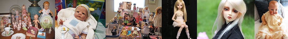 Types of doll available at the Greater Toronto Doll Show