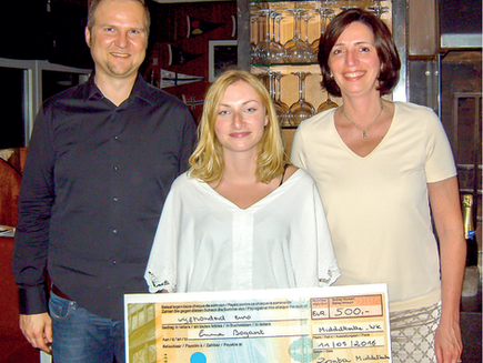 Leerlinge wint Young Woman in Public Affairs Award