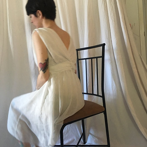 Vintage White Party Dress