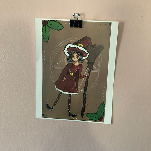 [PRINTS] Christmas Witch