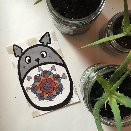 [PRINT] Totoro Mandala