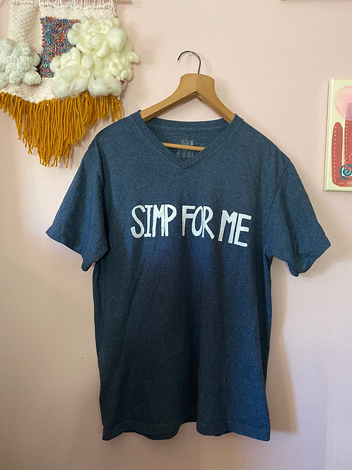 Unisex M Simp For Me Screenprinted T-Shirt