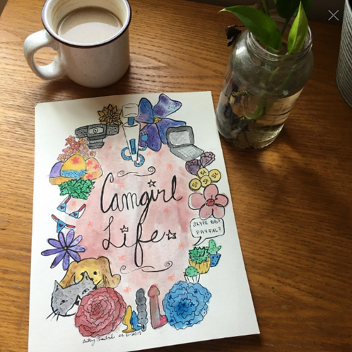 [PRINTS] Camgirl Life