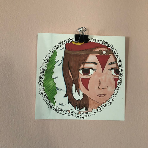 [PRINTS] Princess Mononoke