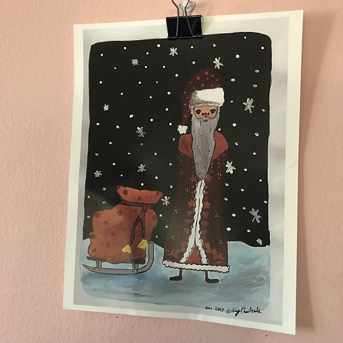 [PRINTS] Russian Santa