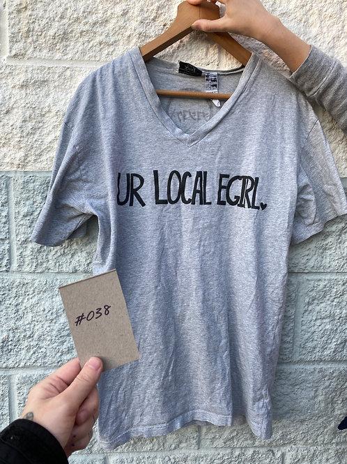 Unisex L Ur Local E-Girl Screenprinted T-Shirt