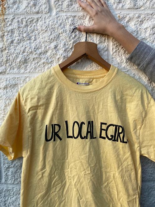 Unisex M Ur Local E-Girl Screenprinted T-Shirt