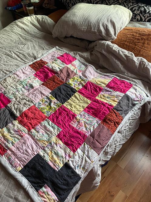 Scrap Quilt - Lap Blanket Size