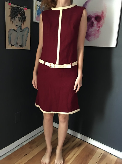 True Vintage 60s Wool Dress
