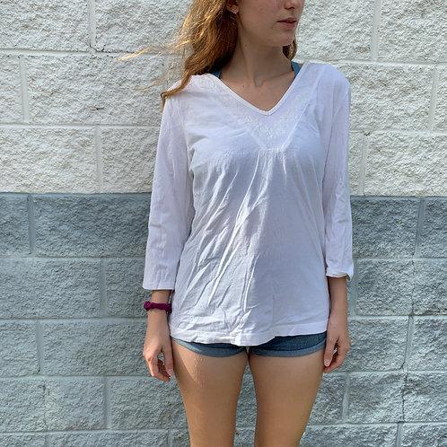 Summery White Blouse