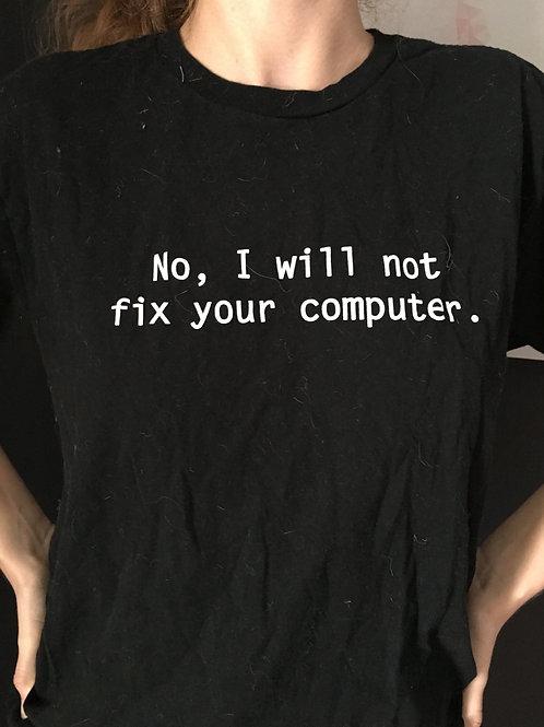 ThinkGeek Computer TShirt