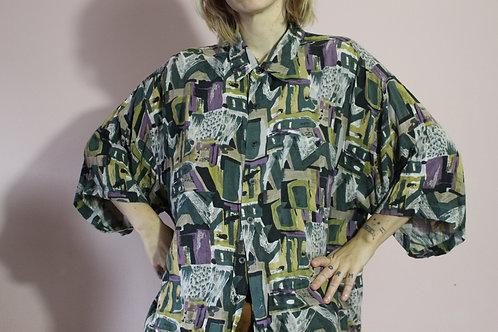 Vintage 80s Aloha Shirt - XL