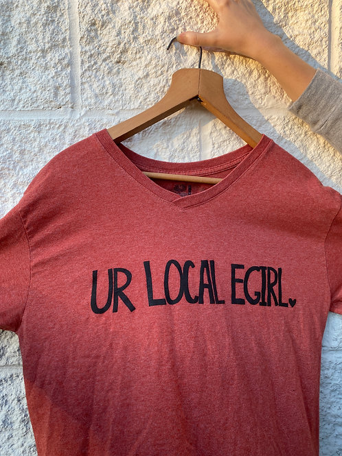Unisex M Ur Local E-Girl Screenprinted T-Shirt