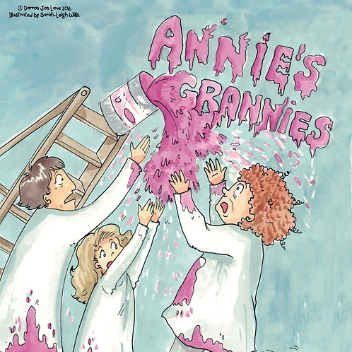 Annie's Grannies In Decorating Disaster (Signed and inscribed upon request)