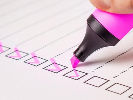 Checklist de formatura: pra não esquecer de nenhum detalhe