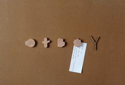 Daum Wood Magnet