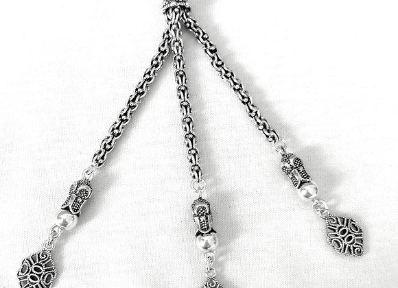 Gümüş Püskül 3 lü