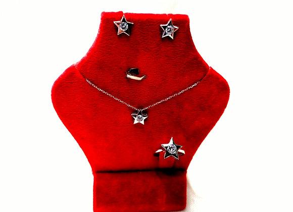 Yıldız Gümüş Set